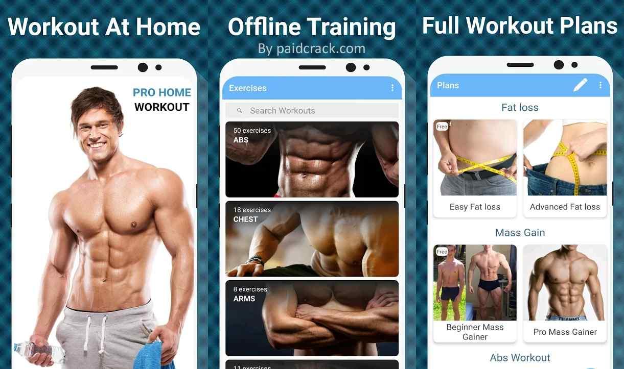 Pro Home Workout Premium Mod Apk 1.5