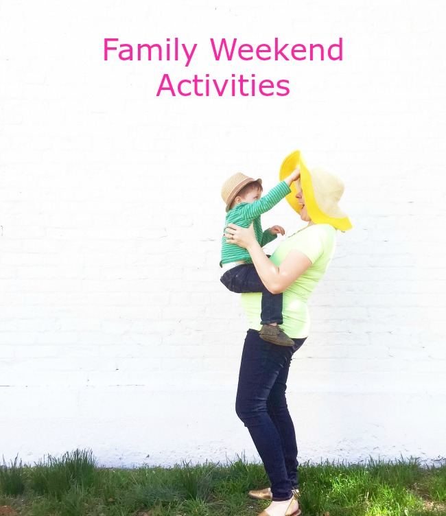 Family Weekend Activities and Spring Fashion