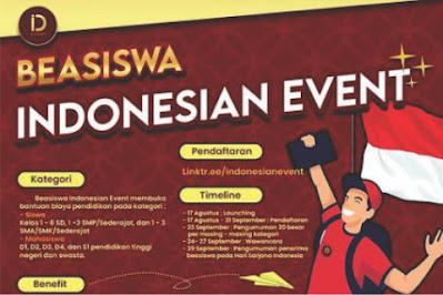 Beasiswa Indonesian Event