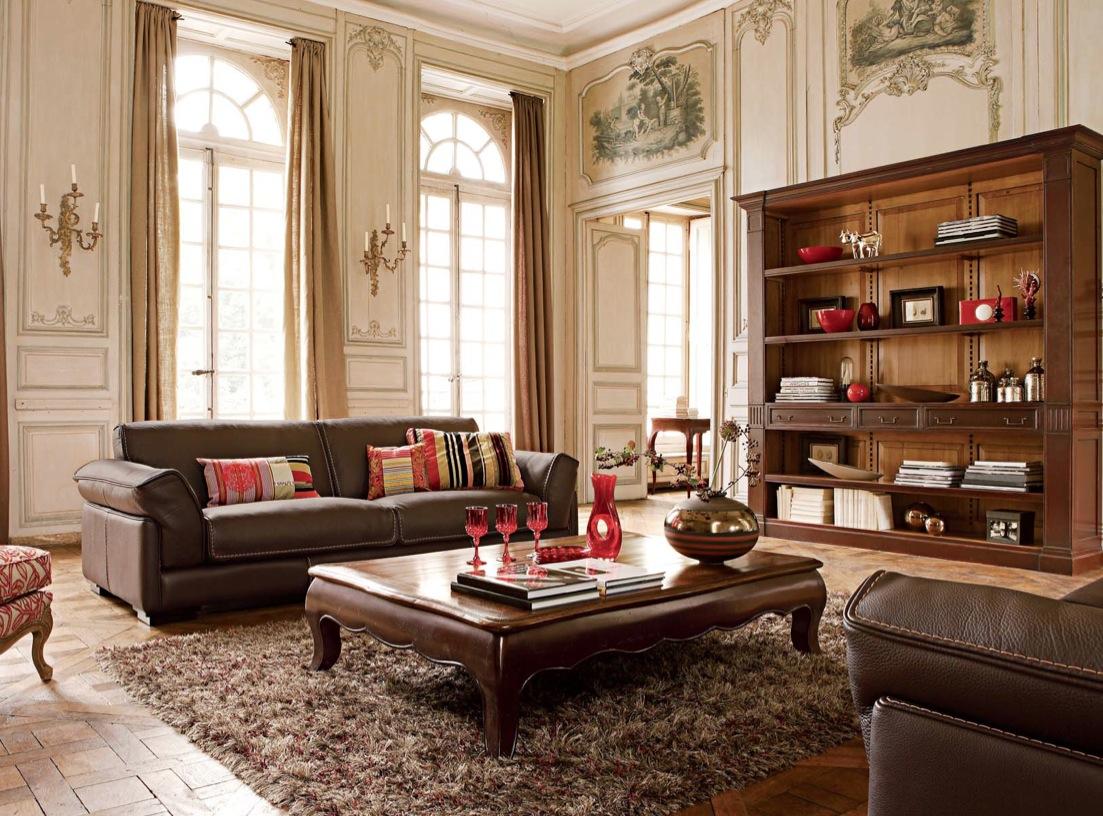muebles de sala de estar elegantes del país Los Ocho Estilos Decorativos Que Triunfan