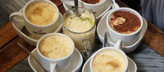 Voyage au Vietnam pour boire du cafe aux oeufs