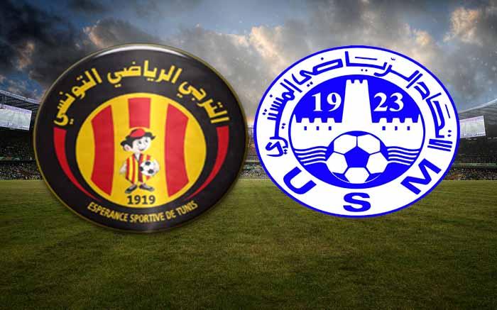 مشاهدة مباراة الترجى والاتحاد المنستيري بث مباشر فى الدورى التونسى