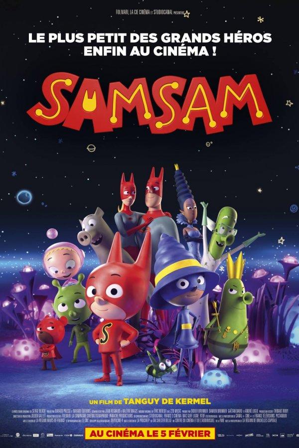 Samsam: Siêu Nhân Tập Sự