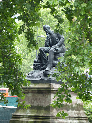 Statue of Lord Byron, Park Lane, London