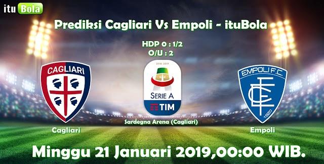Prediksi Cagliari Vs Empoli - ituBola