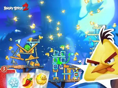 Download Angry Birds 2 Mod Apk Terbaru