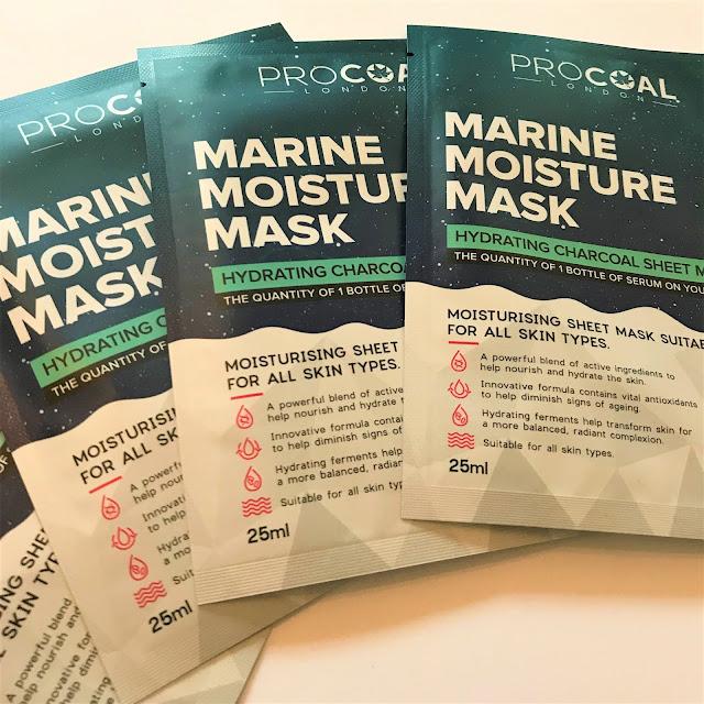 PROCOAL London Marine Moisture Masks