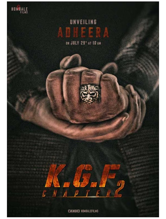 KGF2 Latest Update And Introducing Adheera Character