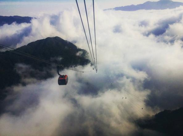 Fansipan Cable Car Reached The World Guinness