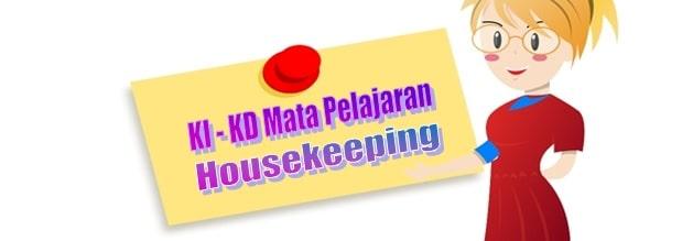 KI KD Housekeeping Perhotelan SMK