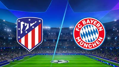 مشاهدة مباراة بايرن ميونخ ضد اتلتيكو مدريد 1-12-2020 بث مباشر في دروي ابطال اوروبا