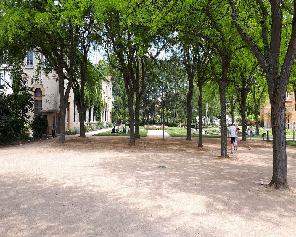 jardin de la visitation parc des hauteurs lyon