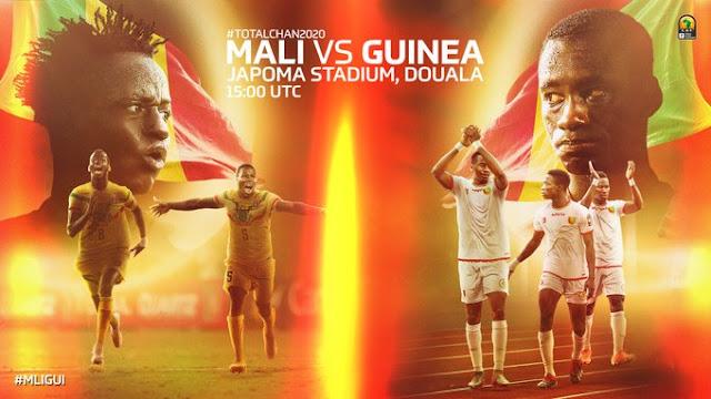 مباراة غينيا و مالي