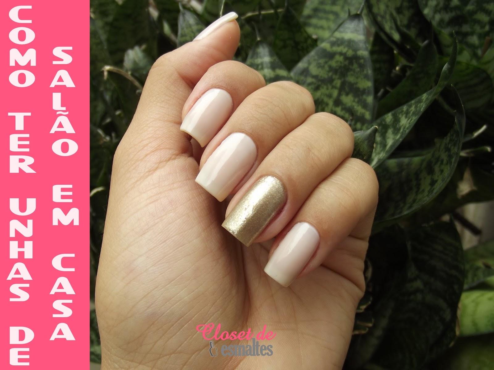 Como ter unhas de salão em casa, como fazer as unhas em casa, fazendo as unhas em casa, dicas para as unhas, unhas bonitas em casa, como cuidar das unhas, como esmaltar,
