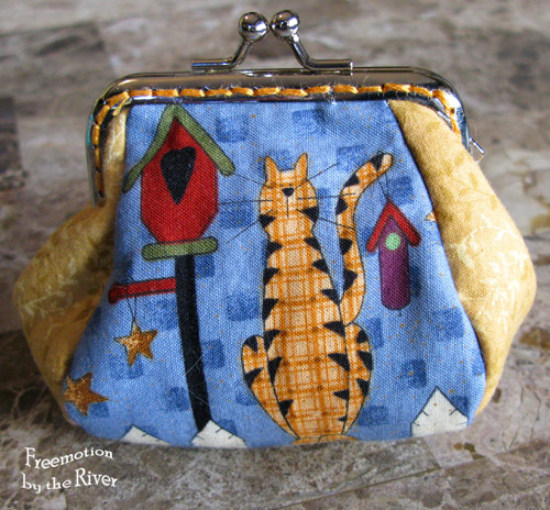 Kitty cat coin purse @Freemotion by the River