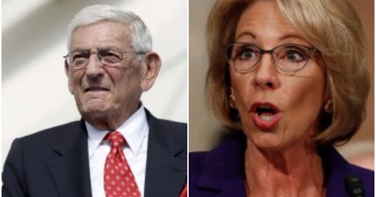Why Eli Broad opposes Betsy DeVos as Secretary of Education