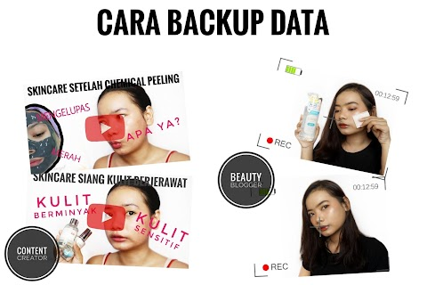 Cara Backup Data untuk Beauty Blogger & Beauty Vlogger