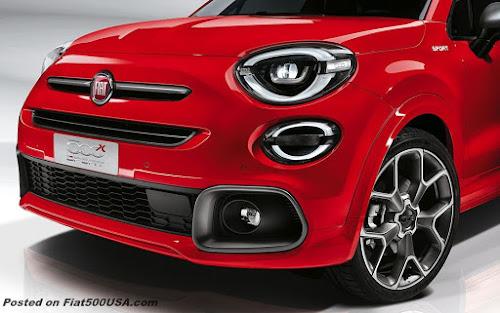 Fiat 500X Sport Front