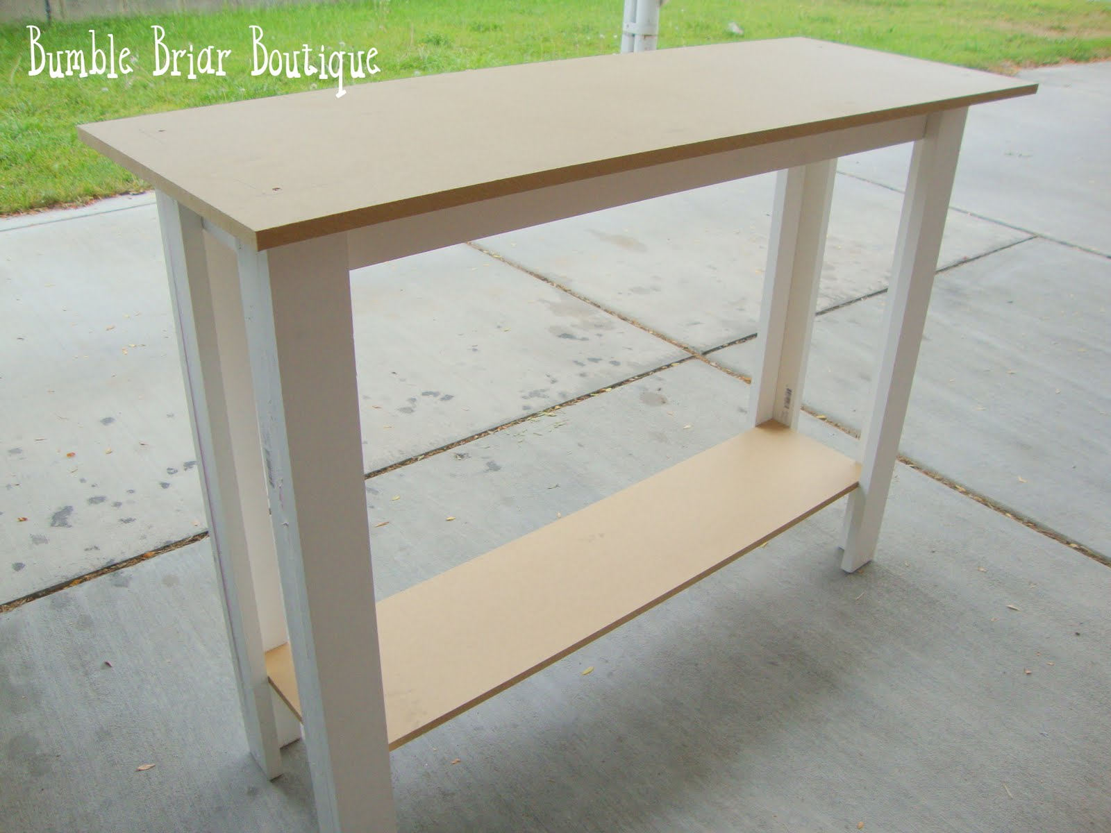 Building A Sofa Table Fun Bumble Briar Boutique How To Build