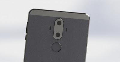 Huawei Mate 9 memiliki Leica-brand dual kamera belakang dengan OIS