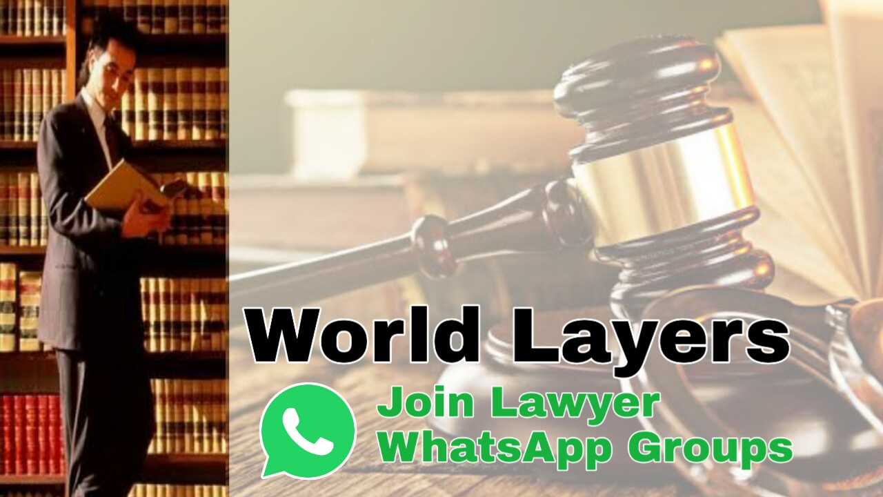 LLB Lawyer Whatsapp Group Link, World Lawyer Whatsapp Group