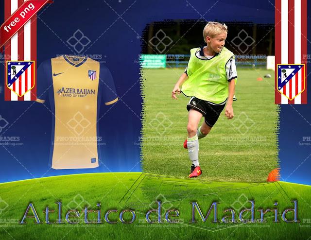 Marco para fotos del Atlético de Madrid