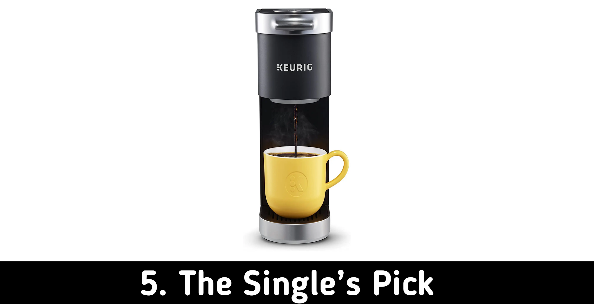 The Keurig Mini For One Coffee Maker