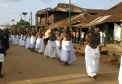 Funeral Rite of Oba of Benin Omo N'oba N'Edo Uku Akpolokpolo Oba Erediawa