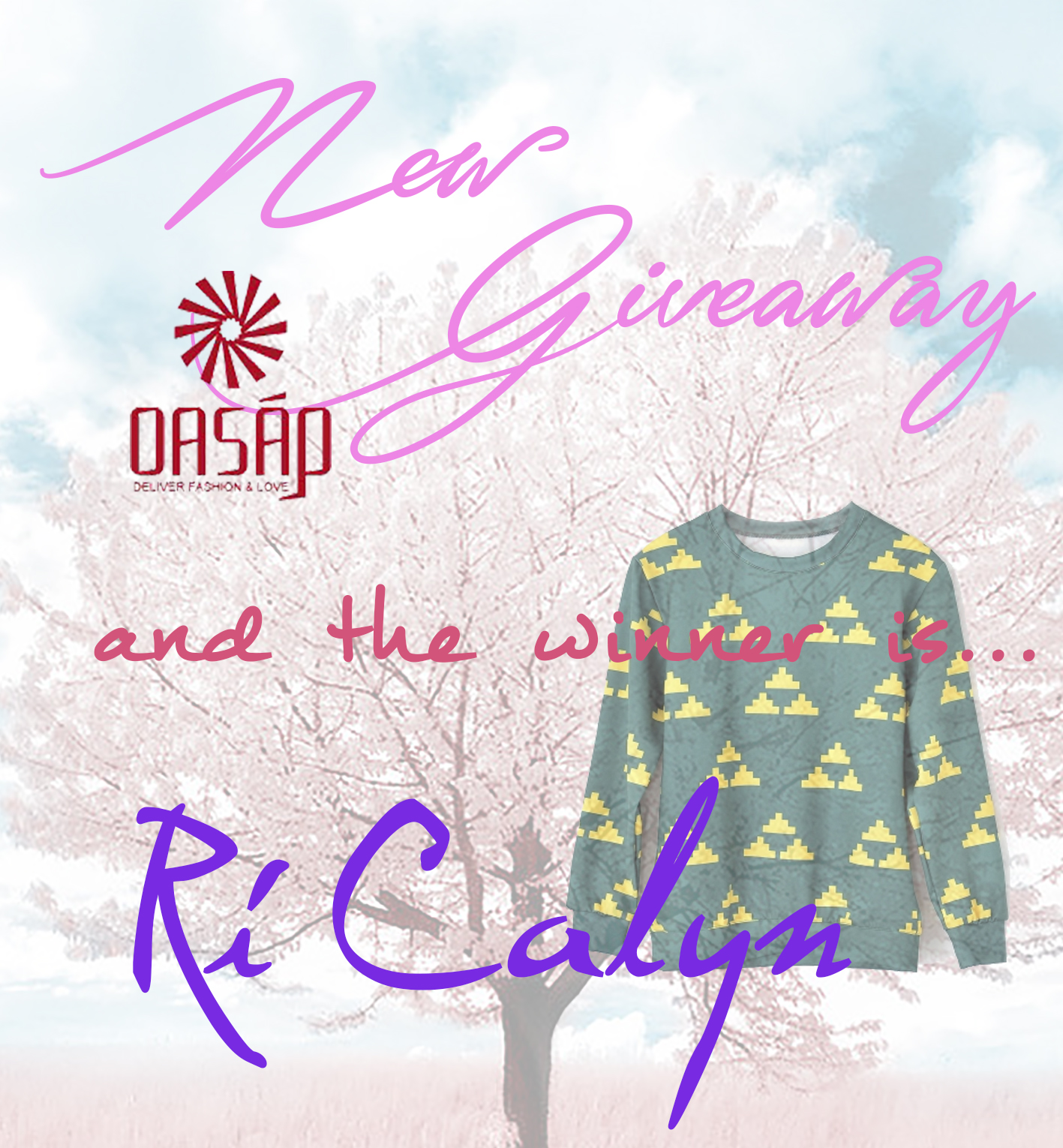 nery hdez, oasap, giveaway, sorteo, free clothes
