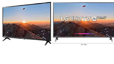 LG 43 Inch 43UK6360PTE 4K UHD LED SMART TV, Best LED TV in India 2019