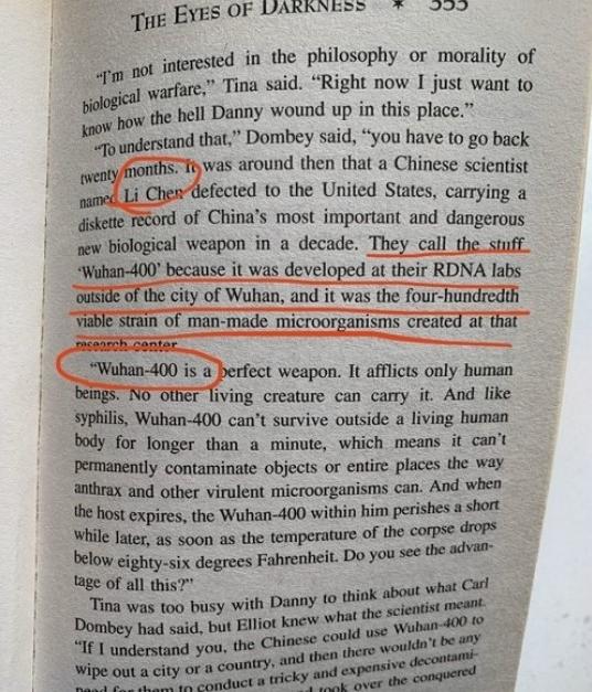 Ce livre de Dean Koontz a-t-il vraiment prédit l'épidémie de COVID-19? sept