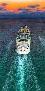 Llegar a Roma desde el barco