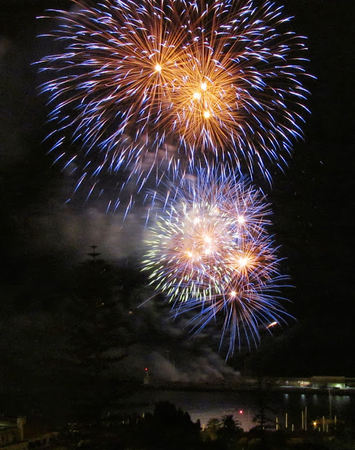 Madeira Atlantic Festival - China firework in Funchal Bay, june 15th