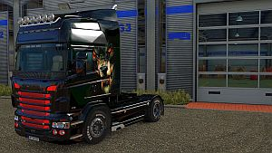 Scary Wolf skin for RJL truck