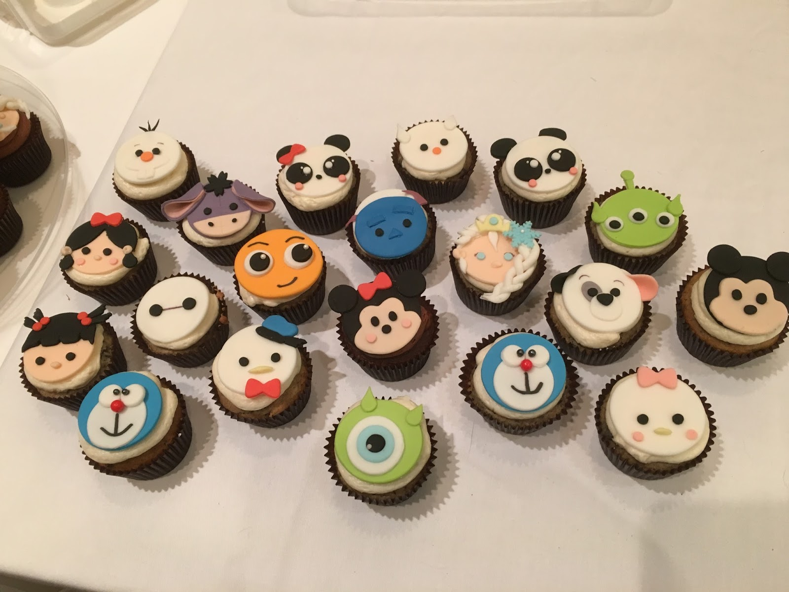 Our Decorated Cakes and Cupcakes More Tsum Themed Cupcakes and