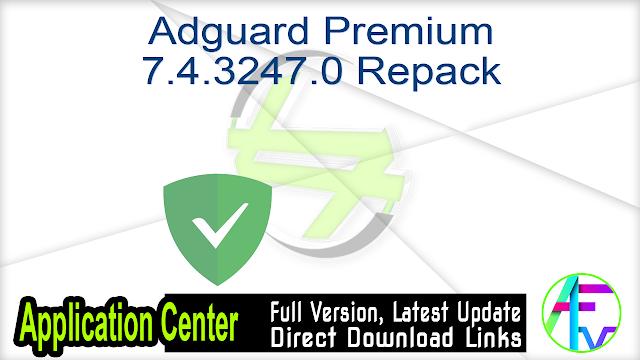 Adguard Premium 7.4.3247.0 Repack