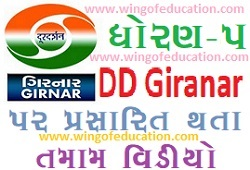 Std-5 DD Girnar Home Learning All Subjects Video December-2020(www.wingofeducation.com)