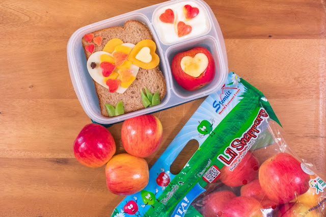 A Love Every Day Lunch with Lil Snappers™ Apples