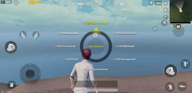 Save Game Voice Chat Jepang Pubg Mobile 0.13.0