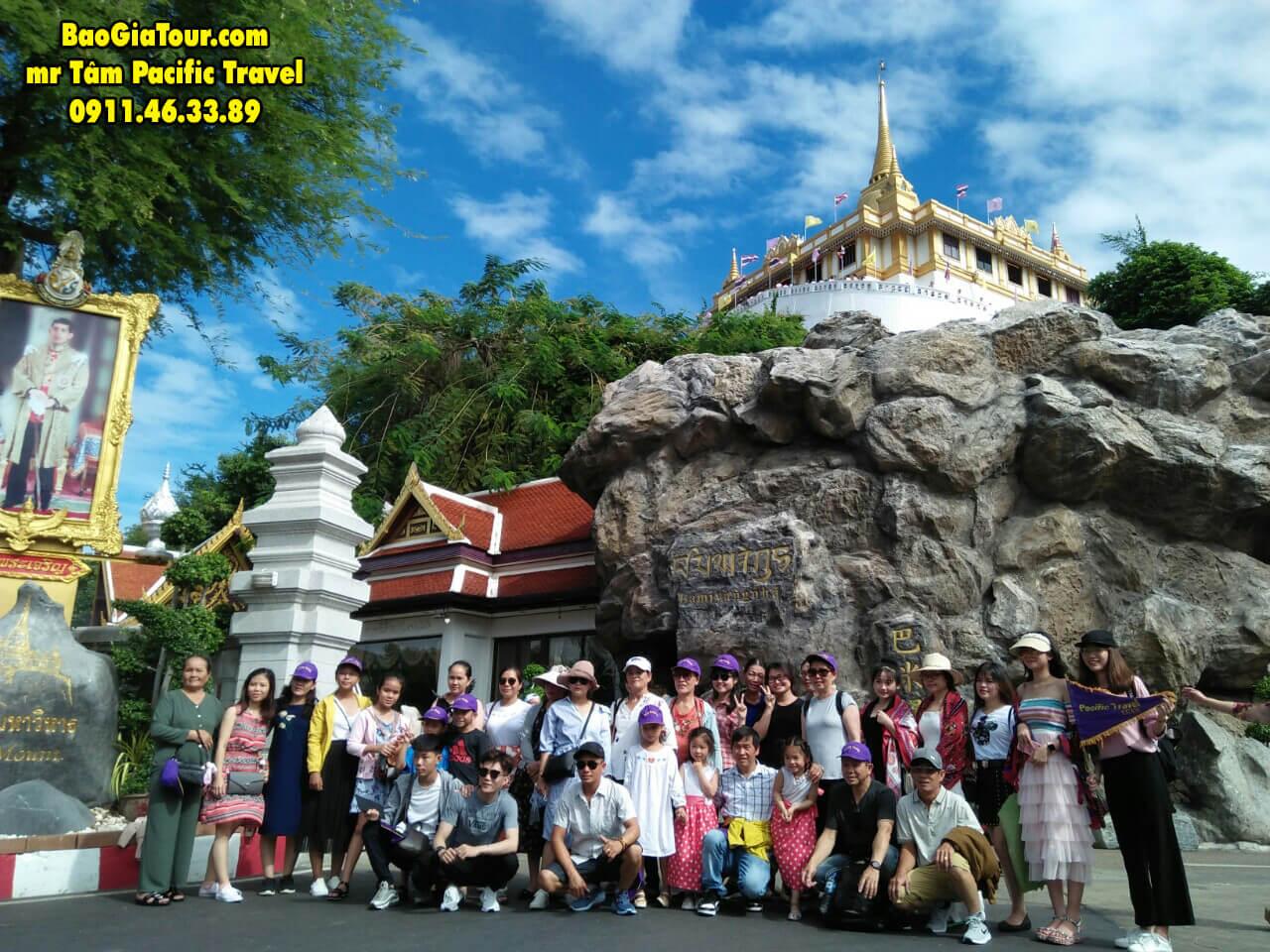 Báo giá tour Thái Lan tháng 8 trọn gói trong 5 ngày 4 đêm