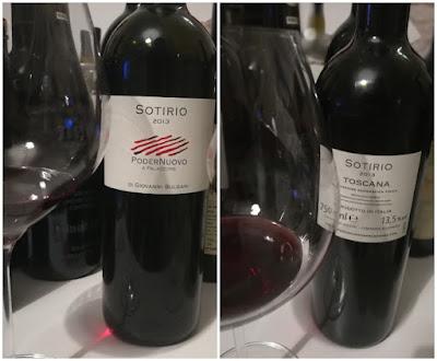 sotirio sangiovese vino