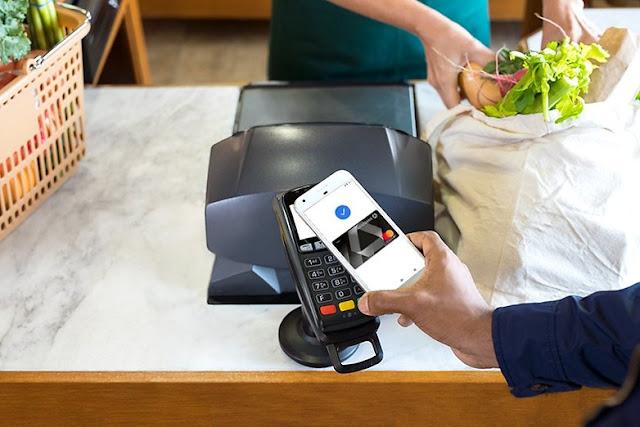 Pembayaran kartu NFC