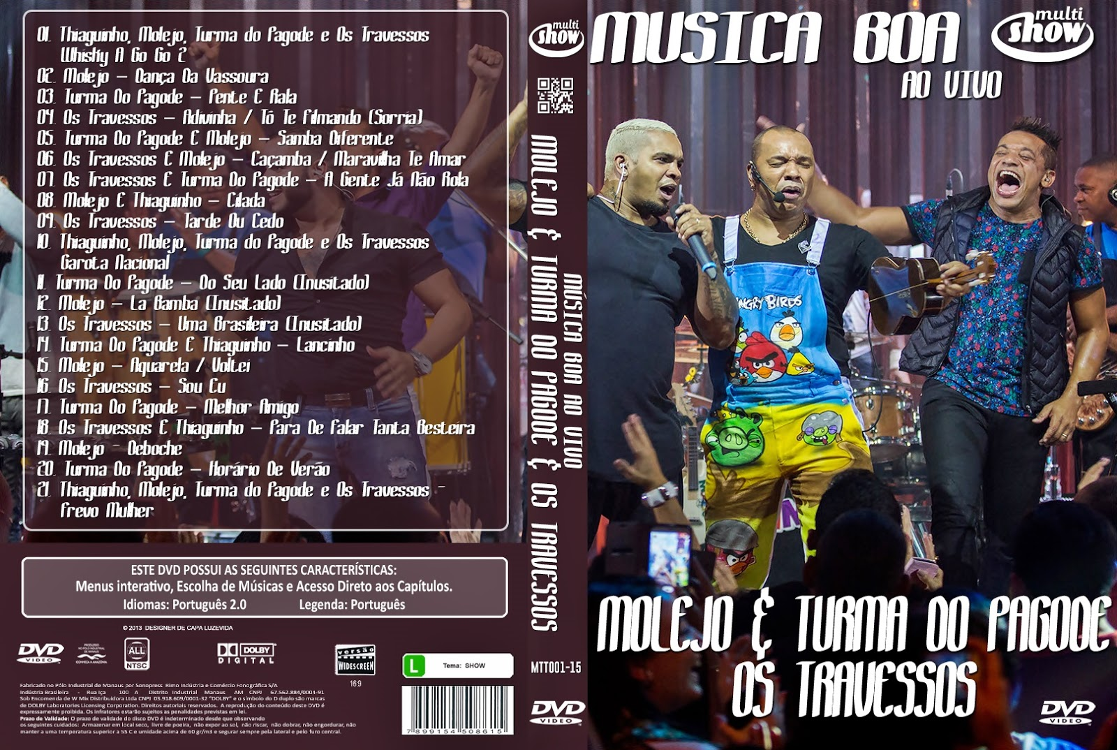 DO TURMA PAGODE 2012 DVD-R DVD BAIXAR