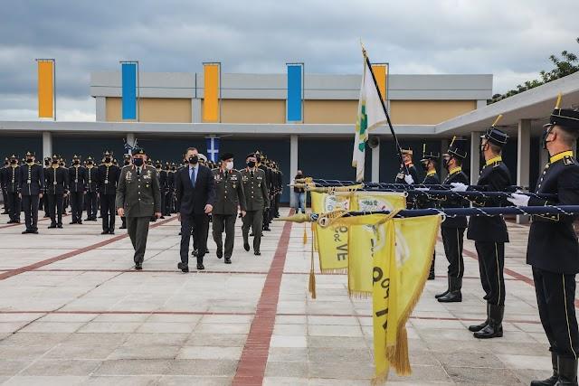 Τελετή Ορκωμοσίας Ευελπίδων 1ης Τάξης «Λοχαγός (ΜΧ) Σωτήριος Σταυριαννάκος» στη ΣΣΕ (8 ΦΩΤΟ)