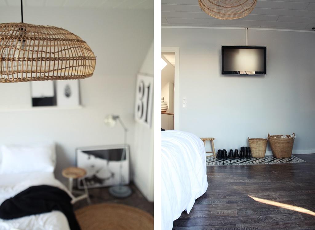 Und Jetzt Gefällt Mir Unser Schlafzimmer Wieder Richtig, Richtig Gut. ♥♥♥  Das Grau Der Wände Lässt Das Schlafzimmer Gemütlicher Und Wärmer Wirken.