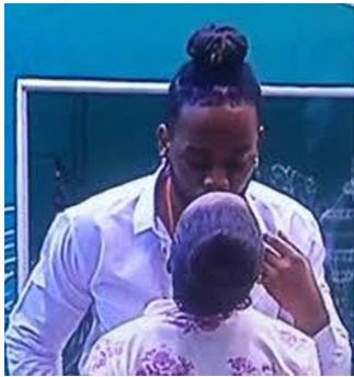 #BBNaija 2018: Bambam And Teddy Keep Serving Couple Goals (Watch What They Were Doing)