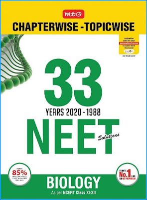 Download NEET MTG 33 Years Biology Chapter Wise Solution ebook Pdf