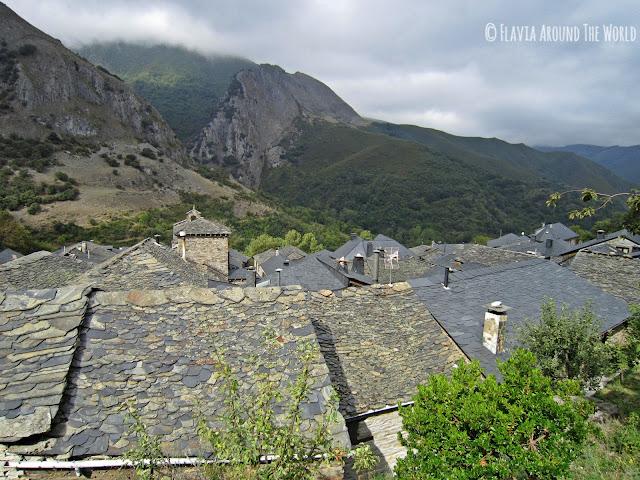 Valle del Silencio desde Peñalba de Castro