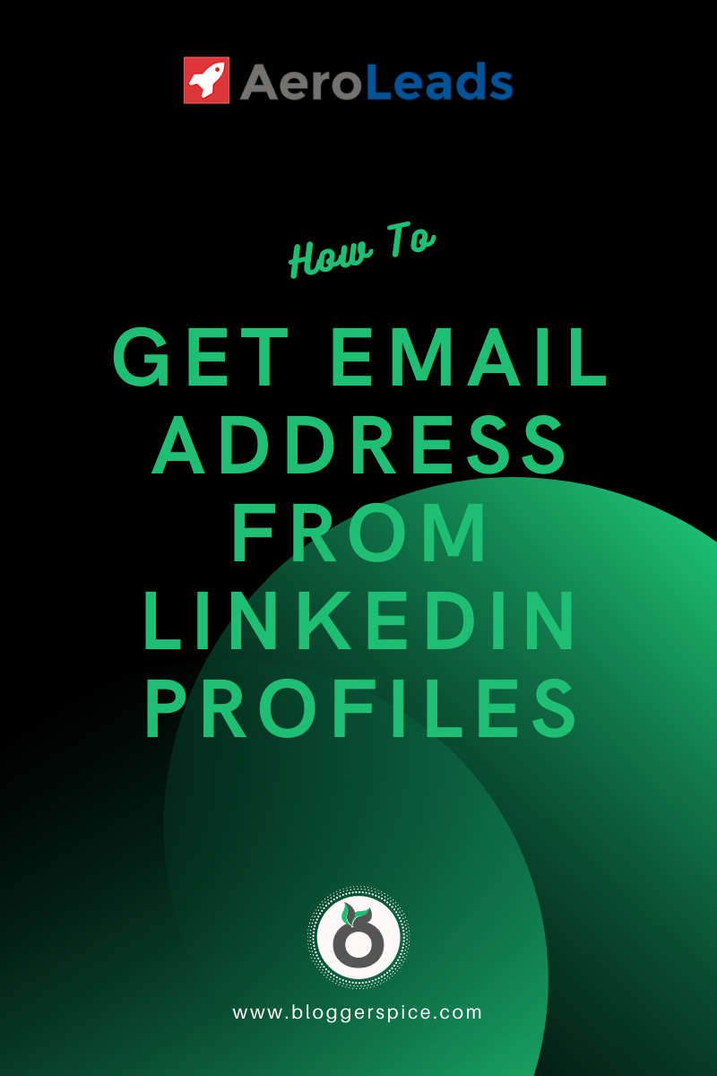 How To Build Your Mailing List Using Aeroleads From LinkedIn