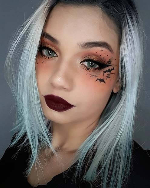 of Best Scary Bat Makeup Artist For Halloween  25+ Best Scary Bat Makeup Artist For Halloween 2020